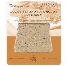Alexian Duck Liver and Pork Mousse with Cognac
