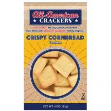 All-American Crispy Cornbread Crackers