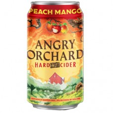Angry Orchard Peach Mango Hard Cider 6 Pack
