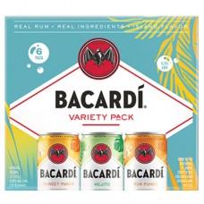 Bacardi Rum Cocktail Variety 6 Pack