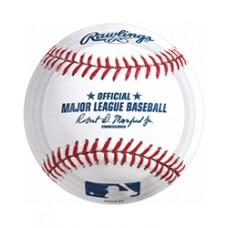 Baseball Rawlings Dessert Plate