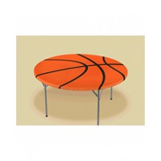 Basketball Round Elastic Table Cover