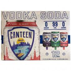 Canteen Vodka Soda Variety 12 Pack