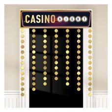 Casino Door Curtain