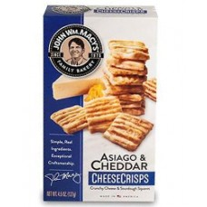 John Wm. Macy's Asiago and Cheddar CheeseCrisps