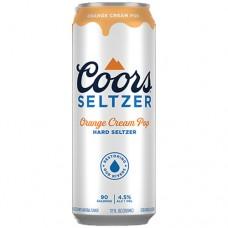 Coors Seltzer Orange Cream Pop 12 Pack