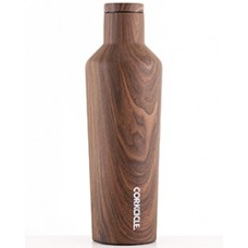 Corkcicle Canteen Walnut 16 oz