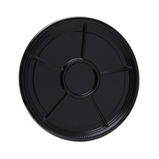 Caterline Black 16 in. Compartment Tray