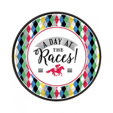 Kentucky Derby Tableware-Day at the Races Dessert Plates