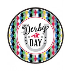 Kentucky Derby Tableware-Day at the Races Dinner Plates