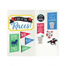 Kentucky Derby Decorations - Day at the Races Cutouts