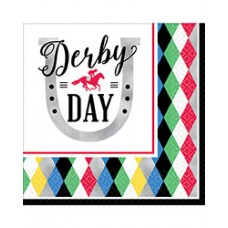 Kentucky Derby Tableware - Day at the Races Lunch Napkin
