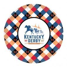 Kentucky Derby Tableware-147th Kentucky Derby Logo Lunch Plates