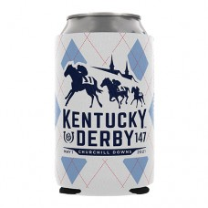 Kentucky Derby Drinkware-147th Kentucky Derby Logo Can Coozie