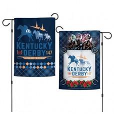 Kentucky Derby Flags and Garden-147th Kentucky Derby Garden Flag