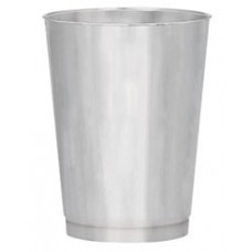 Kentucky Derby Drinkware-Derby Silver Plastic Tumbler
