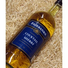 Fairbanks California Pale Dry Cocktail Sherry NV