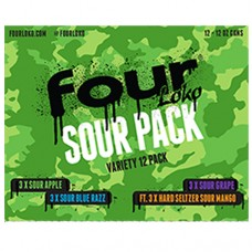 Four Loko Sour Variety 12 Pack