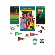 Football Game Day Photo Props Kit