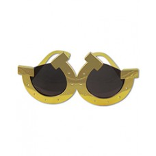 Kentucky Derby Wearables - Horseshoe Sunglasses