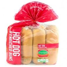 Gonnela Hot Dog Buns 8 Pack