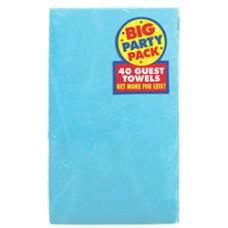 Caribbean Blue Big Pack Guest Towels