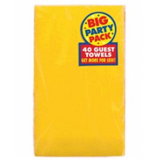 Yellow Sun Big Pack Guest Towels
