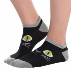 Black Cat Ankle Socks