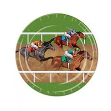 Kentucky Derby Tableware-Horse Racing Dinner Plates