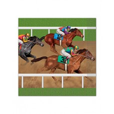 Kentucky Derby Tableware - Horse Racing Lunch Napkin