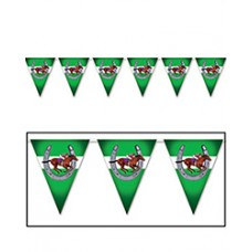 Kentucky Derby Decorations - Horse Racing Pennant Banner