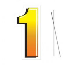 """1"" Plastic Lawn Sign"