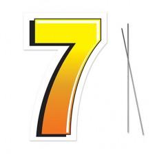 """7"" Plastic Lawn Sign"