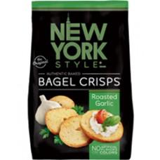 New York Style Roasted Garlic Bagel Crisps