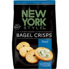 New York Style Plain Bagel Crisps