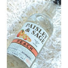 Paisley and Sage Peach Schnapps