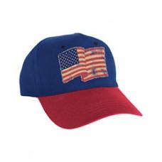 Patriotic American Flag Baseball Hat
