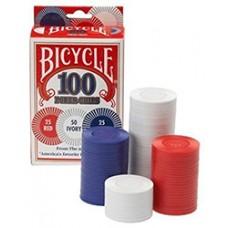 Bicycle 2-Gram Plastic Poker Chips