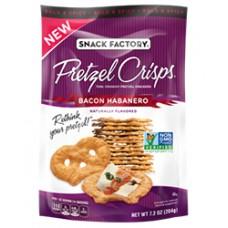 Snack Factory Bacon Habanero Pretzel Crisps