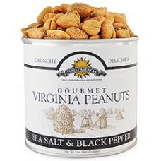 Purely American Gourmet Virginia Peanuts Sea Salt and Black Pepper