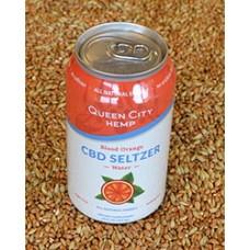Queen City Hemp Blood Orange CBD Seltzer