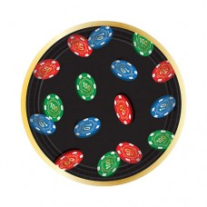 Roll the Dice 7 inch Dessert Plate