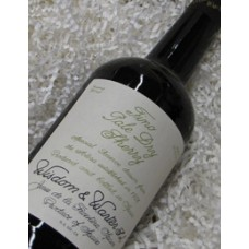 Wisdom and Warter Fino Pale Dry Sherry