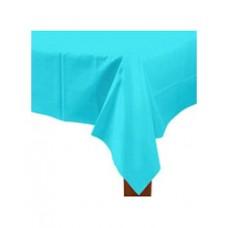 Caribbean Blue Rectangular Table Cover