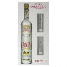Corralejo Blanco Tequila Gift Set