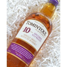 Tomintoul Single Malt Scotch Whiskey 10 yr.