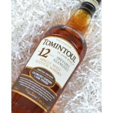 Tomintoul Oloroso Cask Finsih Single Malt Scotch Whisky 12 yr.