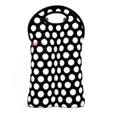 Built NY Two Bottle Tote Polka Dots
