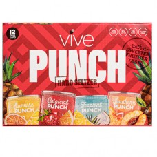 Vive Punch Hard Seltzer Variety 12 Pack
