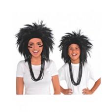 Black Crazy Wig